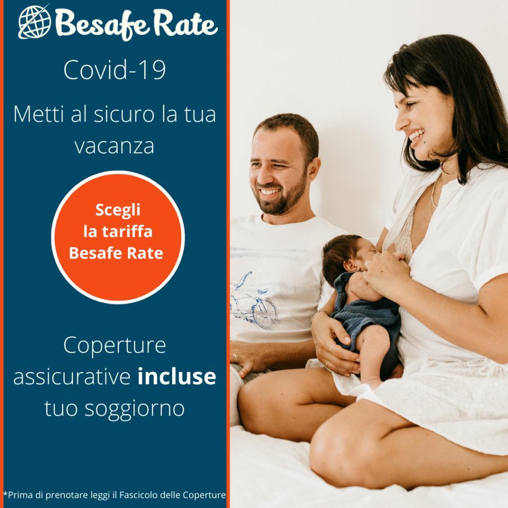 Be Safe Rate  Tariffa  Pre Pagata  e Copertura Assicurativa